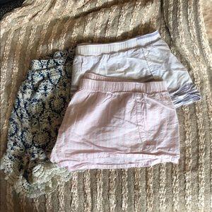 Bundle 3 Sleep Shorts Artisan NY Victoria Secret
